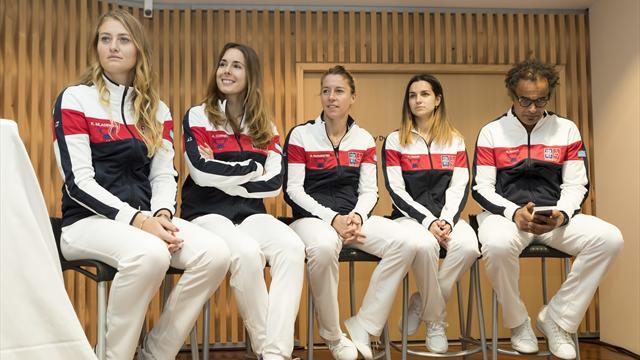 Tennis : Les 4 chantiers de Noah pour relancer l'équipe de France