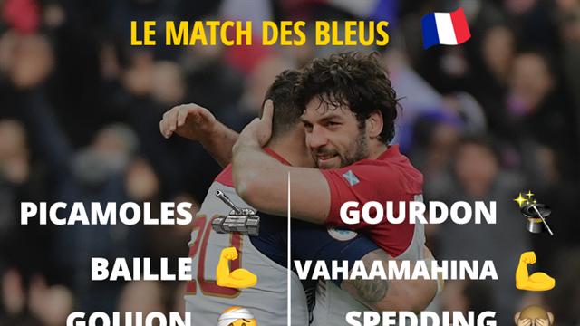 Le match de la France face à l'Ecosse en émojis