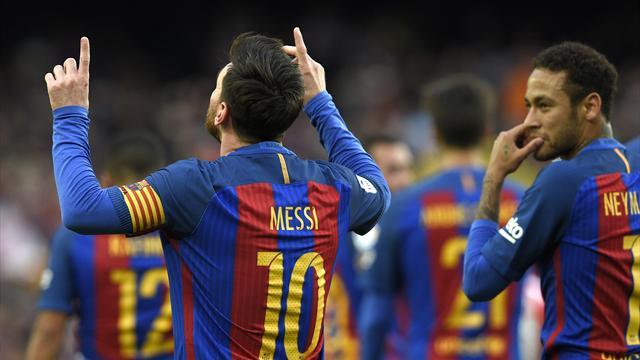 Messi salvó al Barcelona de una catástrofe ante el Leganés