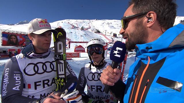 Les Bleus champions du monde par équipes à Saint-Moritz