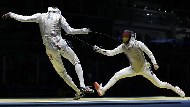 Golden showing from Peter Joppich and Team France at Men's Foil World Cup in Bonn