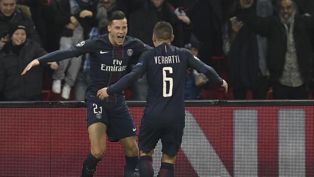 Un ballon perdu par Messi et Draxler n'a pas tremblé : le but du 2-0 en vidéo