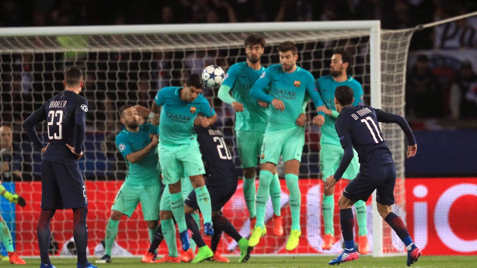 Barcelona left with uphill battle after psg run riot - University league tables french ...