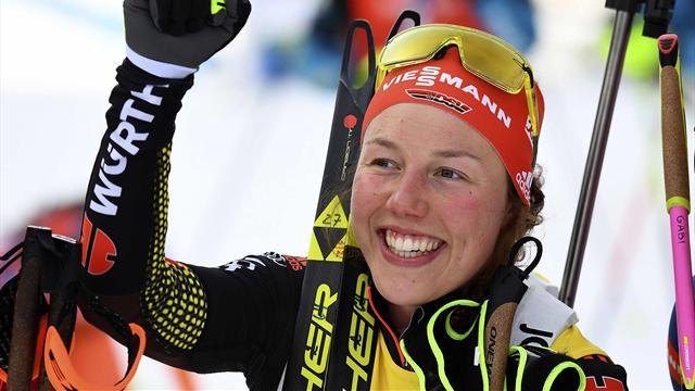 Troisième titre pour l'Allemande Laura Dahlmeier — Biathlon