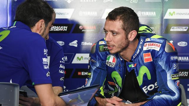 """Rossi, compleanno amaro: """"Così non va, non sono competitivo"""""""