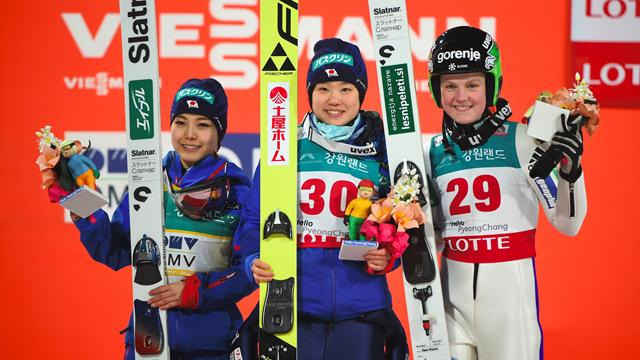 Ito takes ski jumping World Cup gold in Japanese podium one-two
