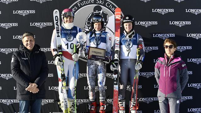 Pykalainen, une future reine sacrée lors des Longines Future Ski Champions