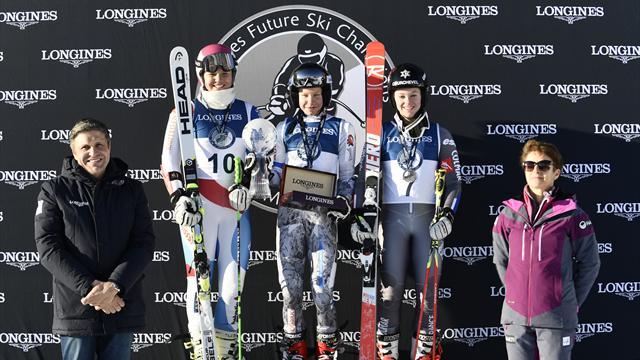 Финка Пикалайнен победила в контесте Longines Future Ski Champions
