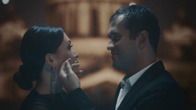 Ирина Дубцова сняла Александра Кержакова всвоем клипе вроли жениха