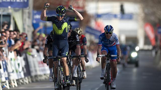 Valverde avait la pancarte, il l'a assumée : le final de la 1re étape