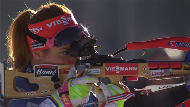 Dahlmeier, terza medaglia d'oro ai Mondiali: battute Koukalova e Runggaldier