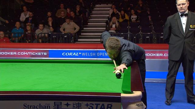 White and Wenbo bring drama to Cardiff with astonishing misses