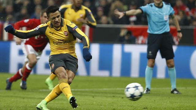 Neuer avait pourtant sorti le penalty de Sanchez, mais le Chilien a fini par marquer