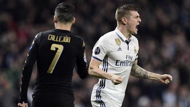 Le pagelle di Real Madrid-Napoli 3-1