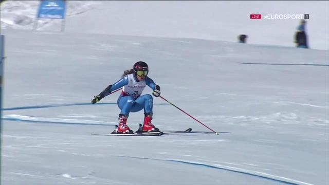 Sofia Goggia commette un errore nella prima manche del gigante, ma è seconda