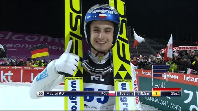 Il pre-olimpico di Pyeongchang sorride a Maciej Kot