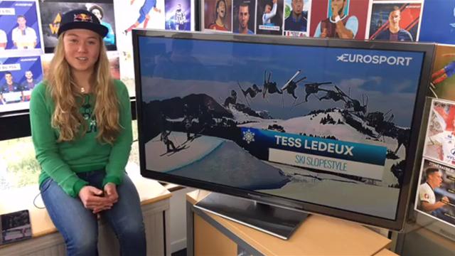Prodige du ski freestyle, Tess Ledeux a répondu à vos questions en live Facebook