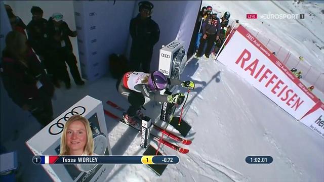 Tessa Worley vince il gigante dei Mondiali