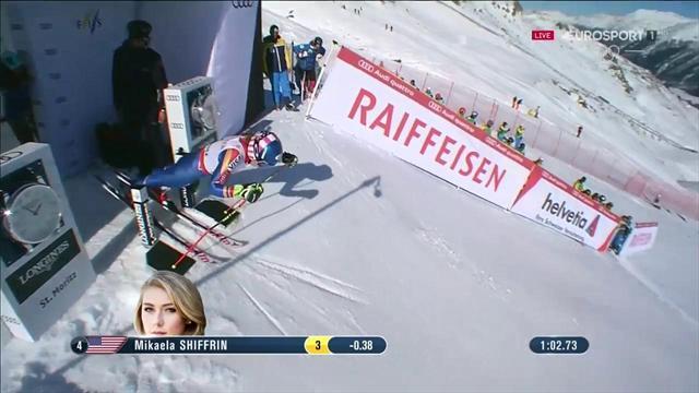 Mikaela Shiffrin argento nel gigante mondiale