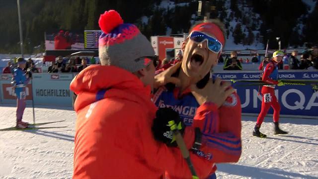 Lowell Bailey takes shock biathlon gold in huge upset