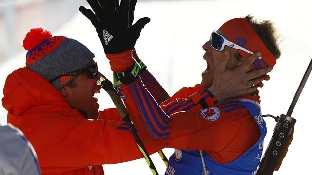 Lowell Bailey storms to individual biathlon gold