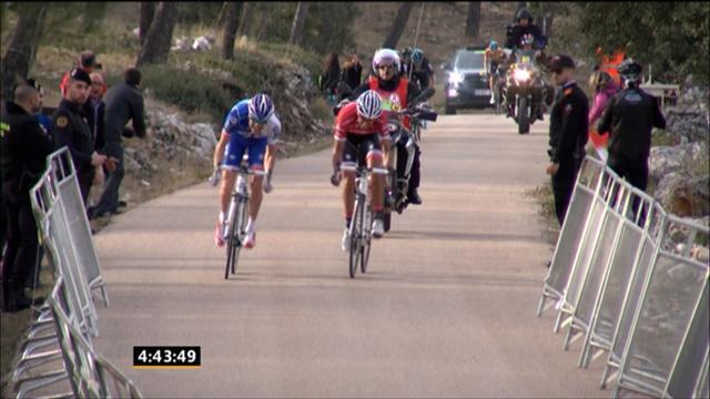 Pinot a repris Contador dans le dernier kilomètre avant de le scotcher pour la victoire