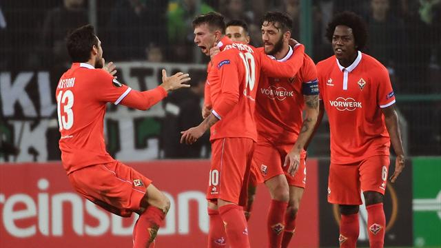 Bernardeschi illumina la Fiorentina: impresa a Mönchengladbach, è 0-1