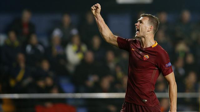 Roma esagerata: Emerson, tripletta di Dzeko e 4-0 clamoroso a Villarreal
