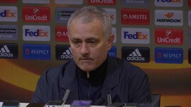 Mourinho: We played so bad in the first half