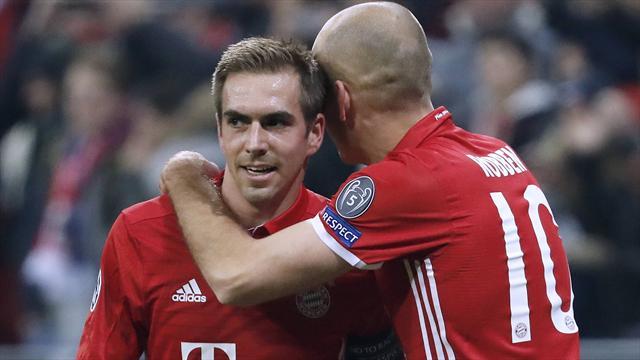 Lahm und Robben: Bayerns Traumpaar hat schon Trennungsschmerz