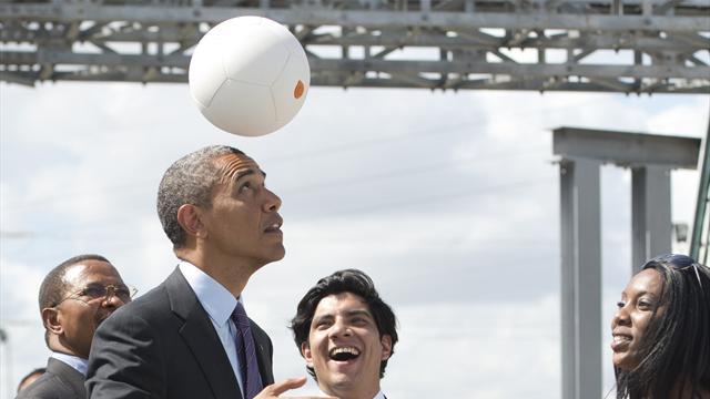 Obama a adoré les Bleus : «ce ne sont pas tous des Gaulois» mais «ils sont Français !»