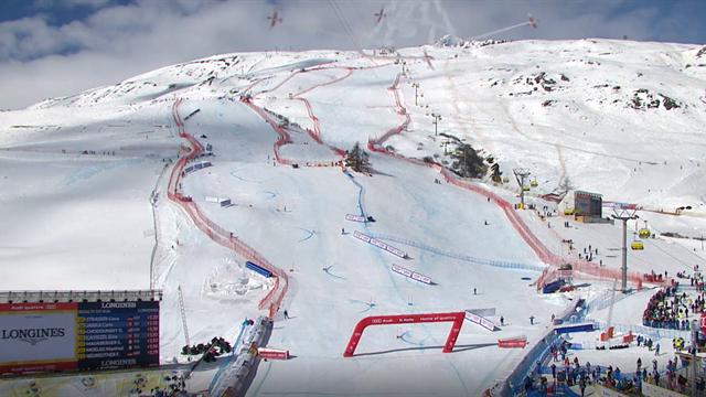 Flugzeug lässt Kamera vom Himmel stürzen: Schrecksekunde bei Ski-WM
