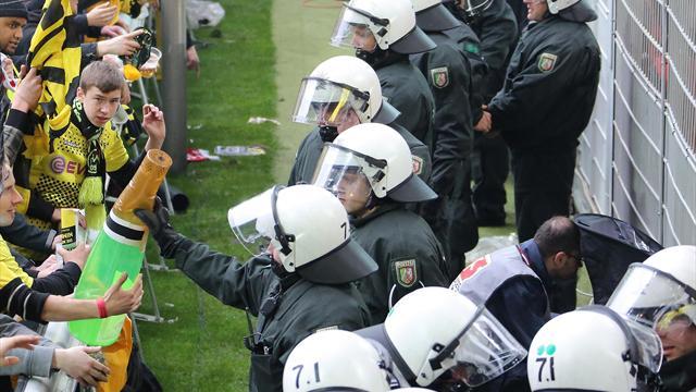 Dortmunder Polizei erhöht Aufgebot für Wolfsburg-Spiel