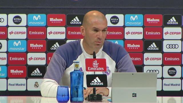 """Zidane : """"Paris est aussi favori de la Ligue des champions"""""""