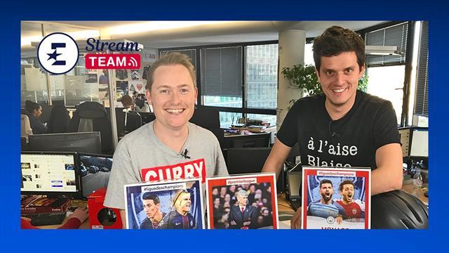 """""""Paris peut-il remporter la C1 ?"""", """"Wenger : la saison de trop ?"""" : La Stream Team en direct"""