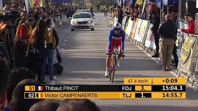 Valverde a repris les commandes, au nez et à la barbe de Contador et Pinot