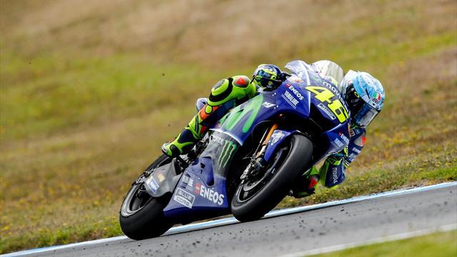 Valentino Rossi lento nei test di Phillip Island: c'è da preoccuparsi oppure no?