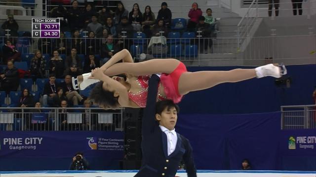 Die Sieger-Kür von Han/Sui beim Olympia-Test für PyeongChang