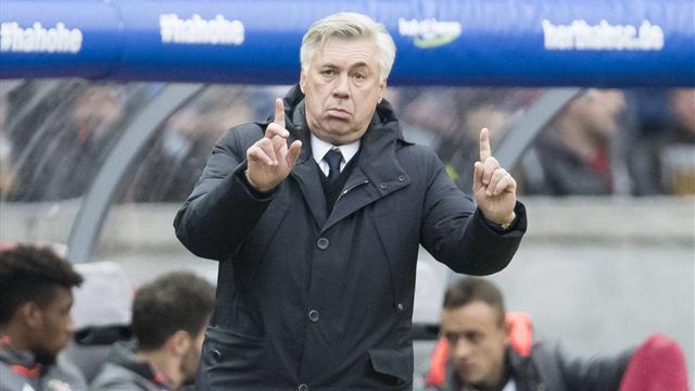 Анчелотти продемонстрировал неприличный жест болельщикам «Герты»