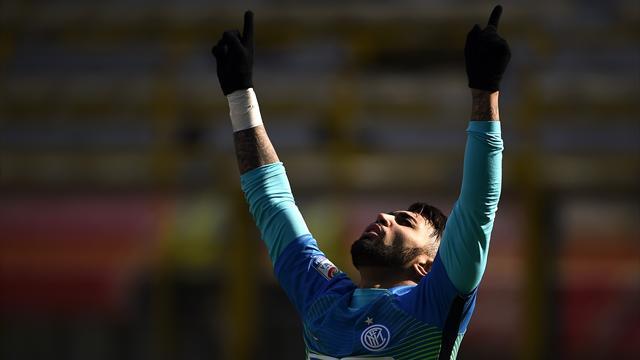 Gabigol propulse l'Inter, l'AS Rome et Naples tiennent le rythme
