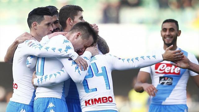 Le probabili formazioni di Chievo-Napoli - Inglese sfida il suo futuro