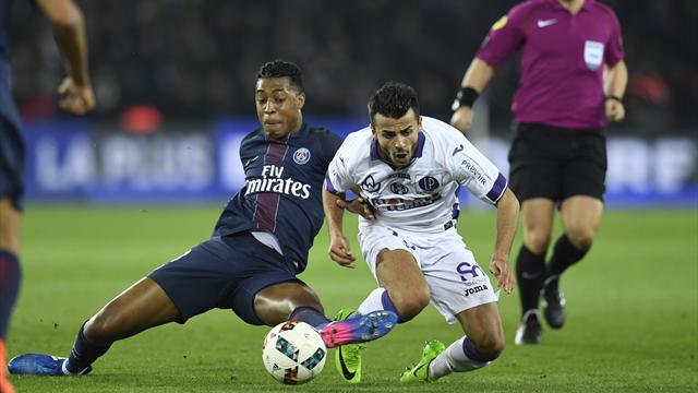 PSG held by Toulouse to stay three points off Ligue 1 pace