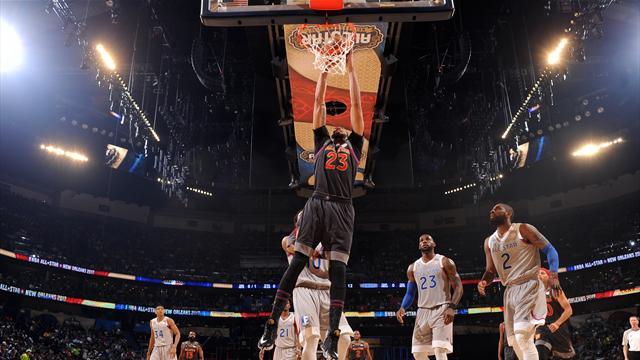 Команда Западной конференции выиграла Матч звёзд НБА