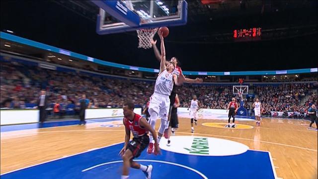 Набор из данков и суперический блок-шот в Еврокубке, после которых вы забудете про НБА