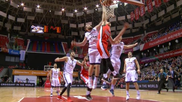 Basketball-Eurocup: Top-10-Dunks - die besten Kracher