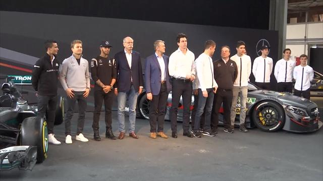 Wolff et Lauda prolongent chez Mercedes jusqu'en 2020