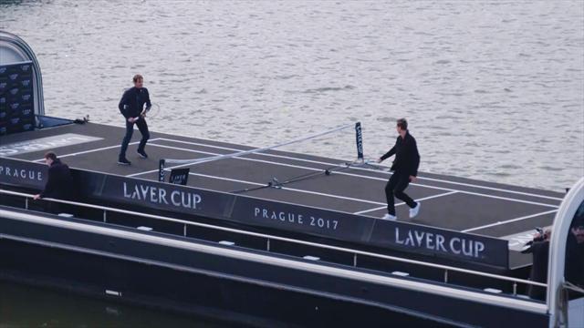 """Rolex Minute: Federer e Berdych inaugurano la """"Laver Cup"""""""