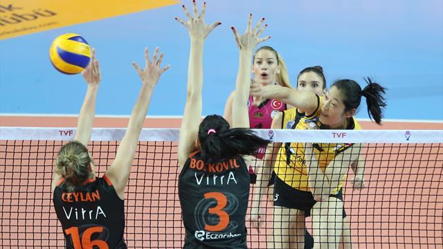 CEV Şampiyonlar Ligi'nde Türkiye derbisi