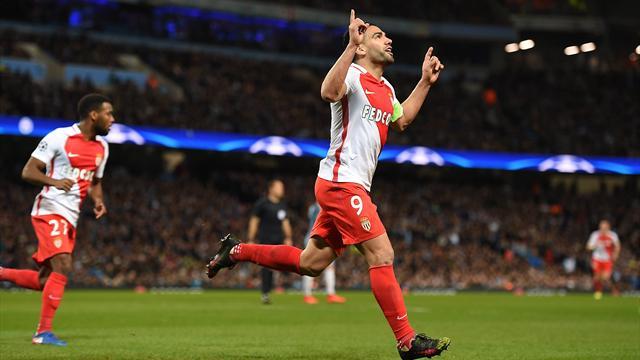 Mónaco-Manchester City: La fe de Falcao contra los impresionantes números de Guardiola (20:45)