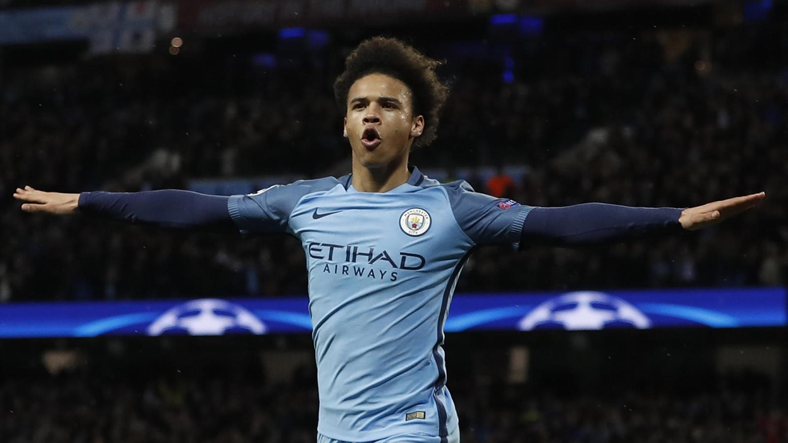 Leroy Sane completes stunning Manchester City recovery in pulsating win over Monaco - Champions ...